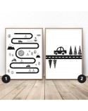 Set of two posters Little Traveler