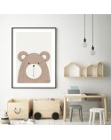 Author's poster with teddy bear 2