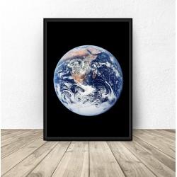 """Plakat z ziemią """"Earth"""""""
