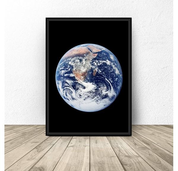 Plakat z ziemią Earth