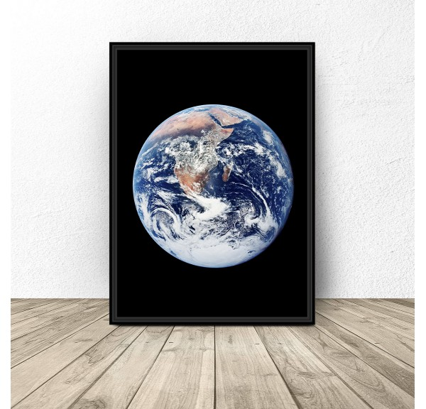 Poster with earth Earth