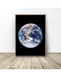 Zestaw dwóch plakatów Ziemia i księżyc 3