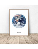 Poster with planet Earth 2