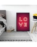 Plakat Neonowe LOVE 2