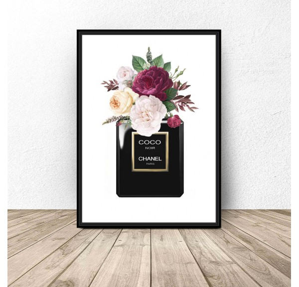 Plakat Chanel Noir