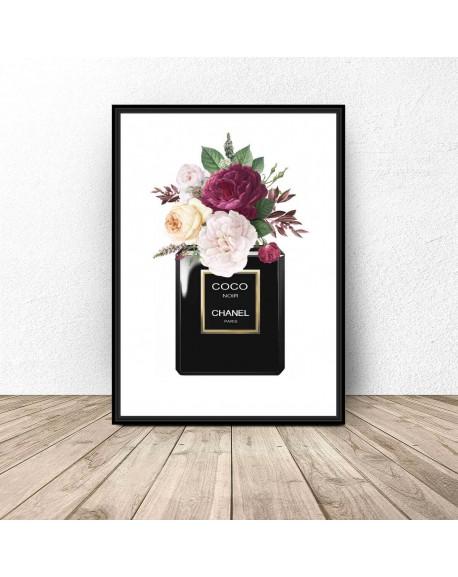 "Plakat ""Chanel Noir"""