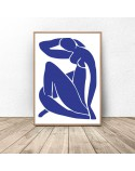 Poster reproduction of Blue Nudes by Henri Matisse 3