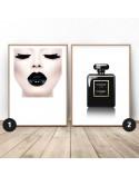 Zestaw dwóch plakatów Black glamour