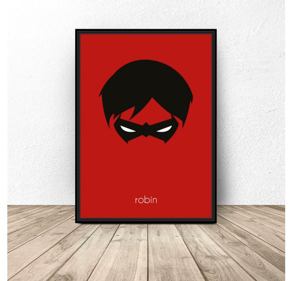 Robin character poster