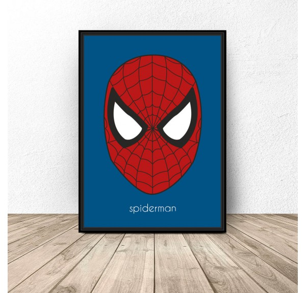 Spiderman character poster