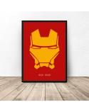 Plakat z postacią Iron Mana 3