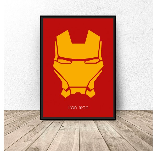 Plakat z postacią Iron Mana