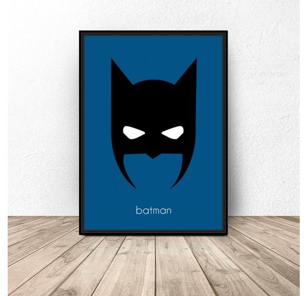 Batman character poster