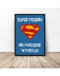 Plakat personalizowany Super dziecko 2