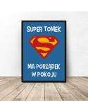Plakat personalizowany Super dziecko 3