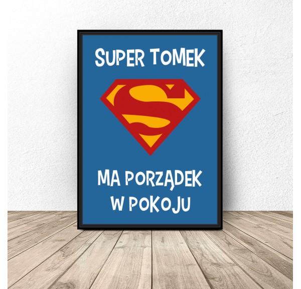 Personalized poster Super child