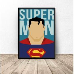 """Plakat na ścianę """"Superman"""""""