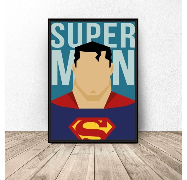 Plakat na ścianę Superman