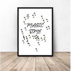 "Darmowy plakat ""Magic time"""