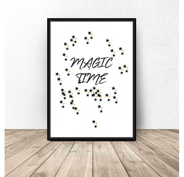 Darmowy plakat Magic time