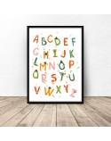 Plakat Kolorowy alfabet 2