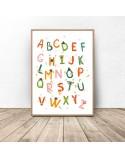 Plakat Kolorowy alfabet 3