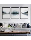 Set of three posters The Dipped Lake