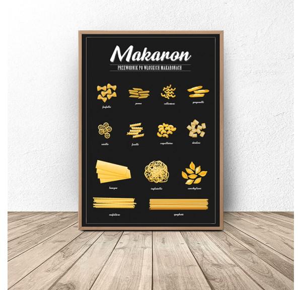 Plakat do kuchni Makaron