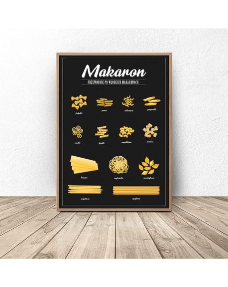 """Plakat do kuchni """"Makaron"""""""