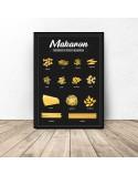 Plakat do kuchni Makaron 3