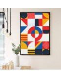 Geometric poster Mosaic 2
