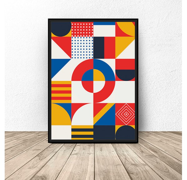 Geometric poster Mosaic