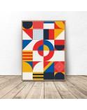 Geometric poster Mosaic 3