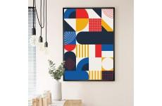 Geometryczne plakaty do kuchni