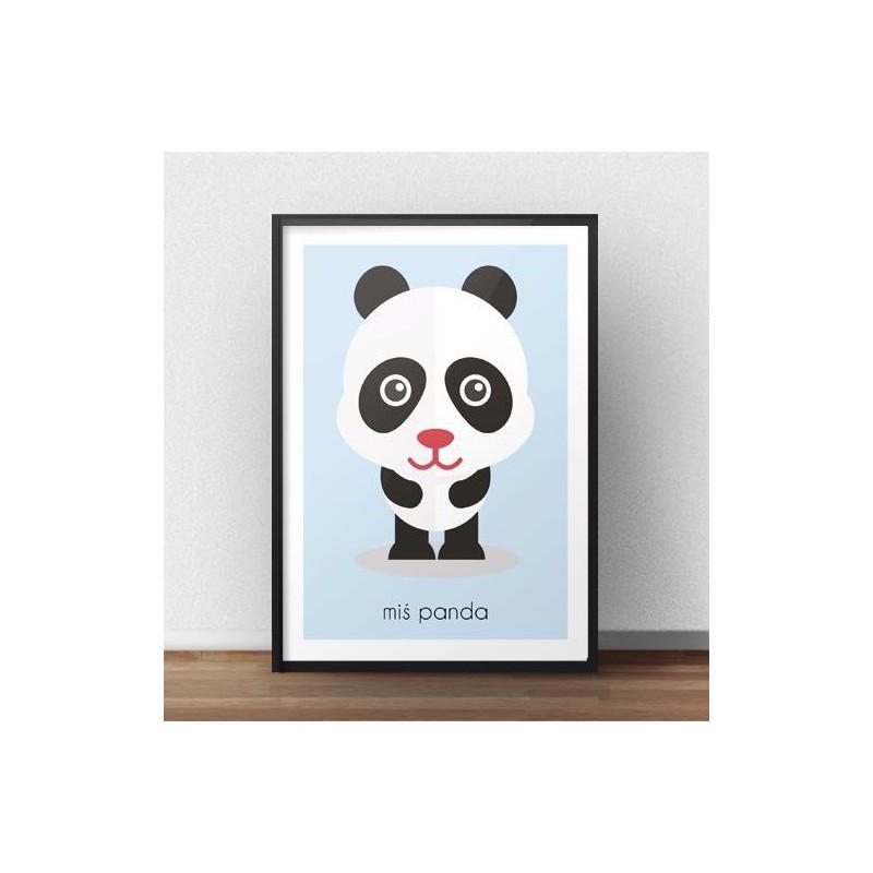 Children's poster Panda Bear