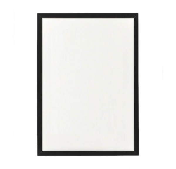 Black frame for posters - individual order