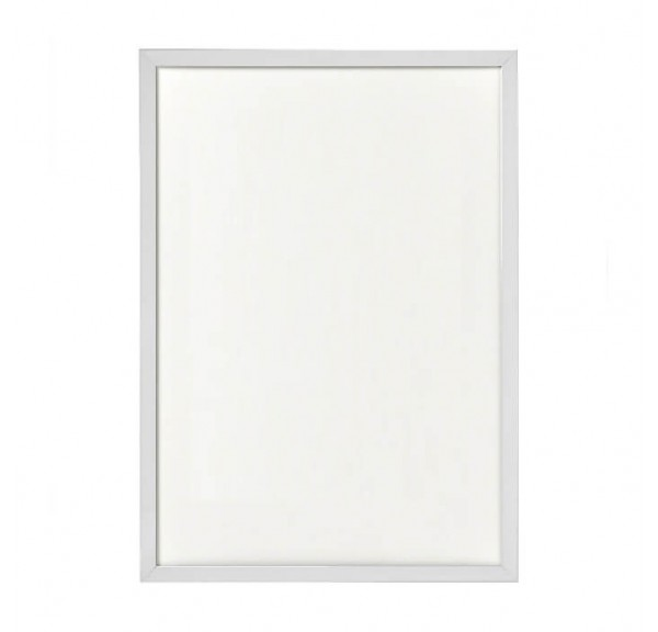 White frame for posters - individual order