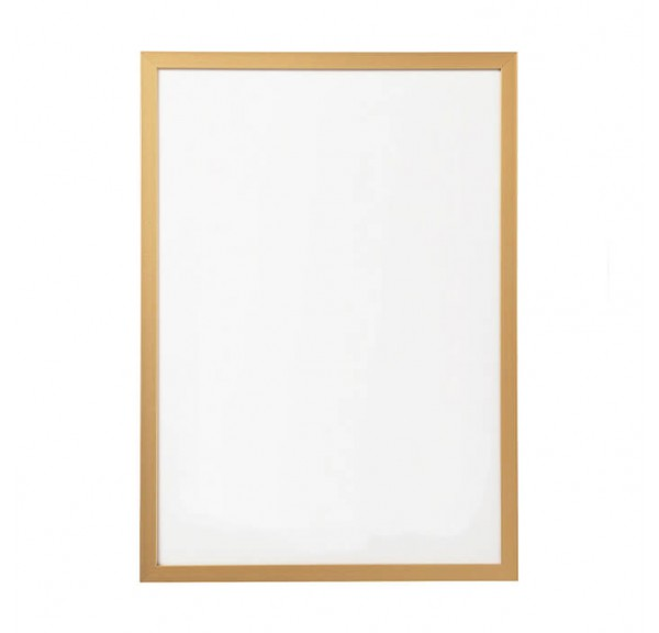 Gold frame for posters - individual order