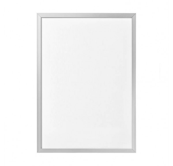 Silver frame for posters - individual order