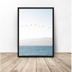 """Plakat dekoracyjny """"Cisza nad oceanem"""""""