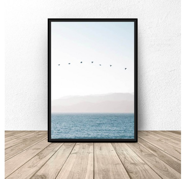 Decorative poster Silence by the ocean