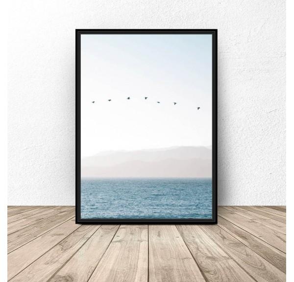Plakat dekoracyjny Cisza nad oceanem