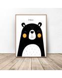 Poster for children Teddy Bear - rozm. 50x70