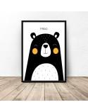 Poster for children Teddy Bear - rozm. 50x70 2