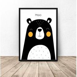 """Plakat dla dzieci """"Misio"""" - rozm. 50x70"""