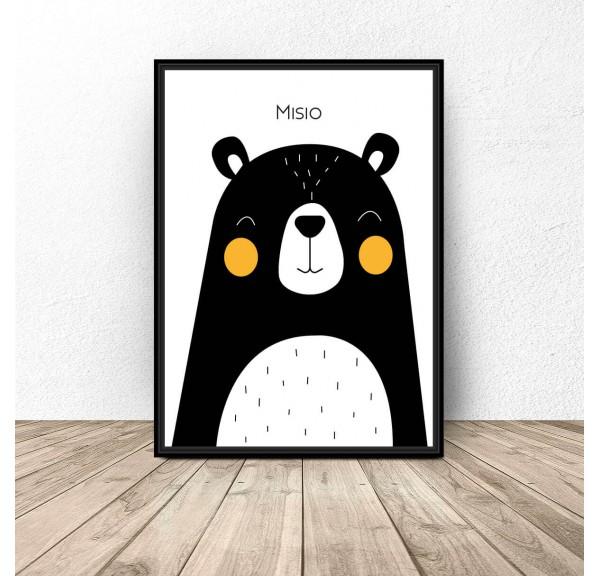 Plakat dla dzieci Misio - rozm. 50x70