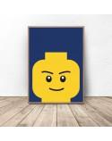 Plakat klocki Lego Smarty