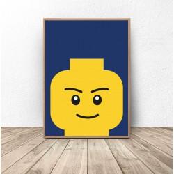 "Plakat klocki Lego ""Smarty"""