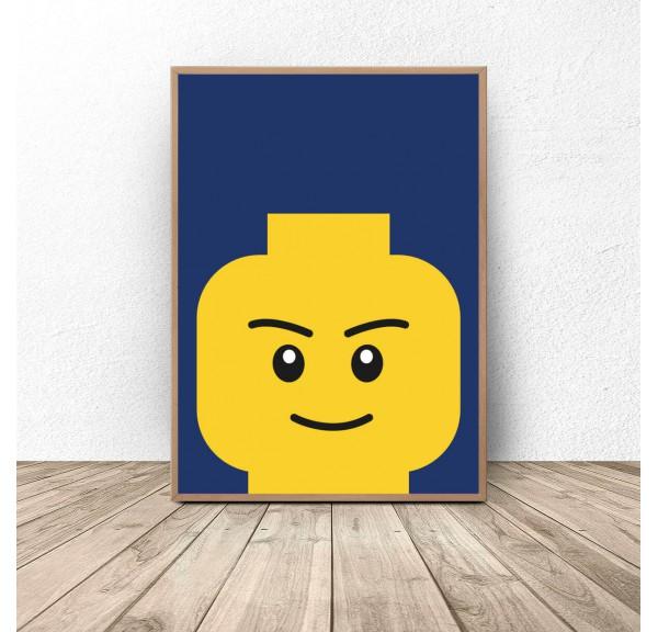 Poster lego bricks Smarty