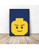 Poster lego bricks Smarty 2